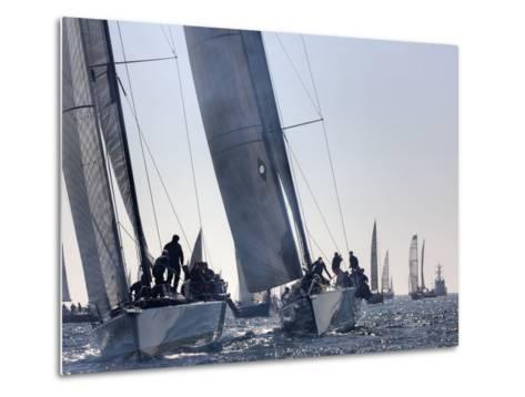 An International Yachting Race Near Victoria, British Columbia-Pete Ryan-Metal Print