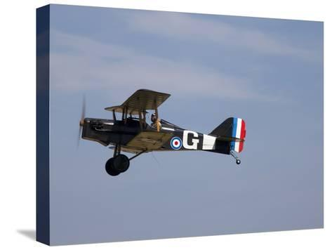 A Replica Royal Aircraft Factory Se5A World War I Biplane (80% Scale)-Pete Ryan-Stretched Canvas Print