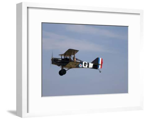 A Replica Royal Aircraft Factory Se5A World War I Biplane (80% Scale)-Pete Ryan-Framed Art Print