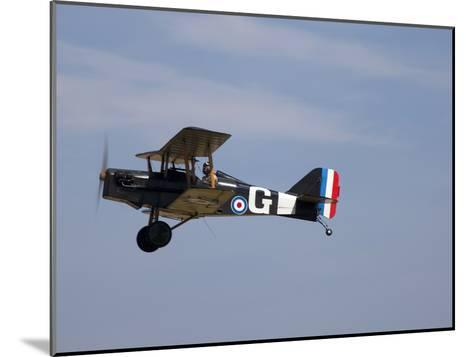 A Replica Royal Aircraft Factory Se5A World War I Biplane (80% Scale)-Pete Ryan-Mounted Photographic Print