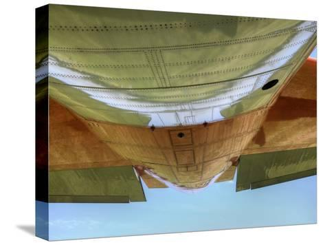 "Underbelly of a Hc-130P ""Hercules"" Military Aircraft-Pete Ryan-Stretched Canvas Print"