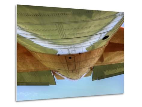 "Underbelly of a Hc-130P ""Hercules"" Military Aircraft-Pete Ryan-Metal Print"