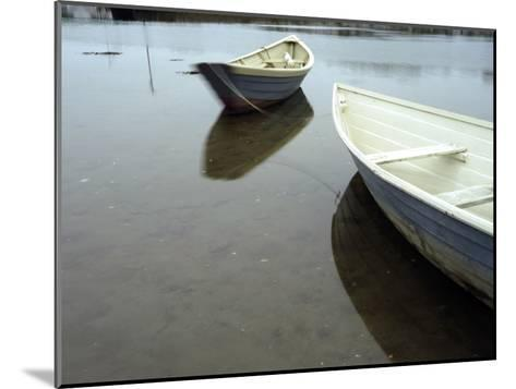 Dories at Low Tide-Raul Touzon-Mounted Photographic Print