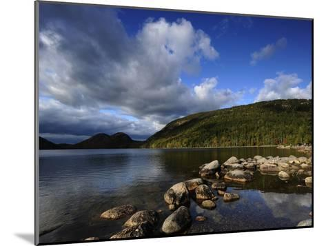 Jordan Pond in the Fall-Raul Touzon-Mounted Photographic Print