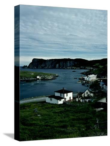 A Small Village on the Avalon Peninsula in Newfoundland, Canada-Kenneth Ginn-Stretched Canvas Print