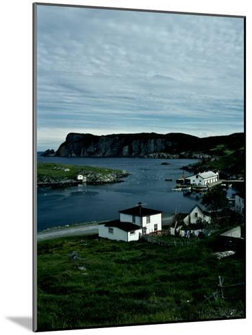 A Small Village on the Avalon Peninsula in Newfoundland, Canada-Kenneth Ginn-Mounted Photographic Print
