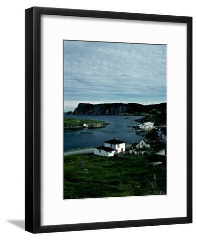 A Small Village on the Avalon Peninsula in Newfoundland, Canada-Kenneth Ginn-Framed Art Print