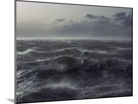 Windstorm over Ocean in Beagle Channel, Tierra Del Fuego, Argentina-Colin Monteath/Minden Pictures-Mounted Photographic Print