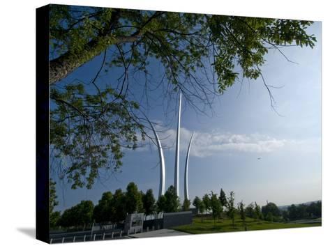 The Air Force Memorial in Arlington, Virginia-Brian Gordon Green-Stretched Canvas Print