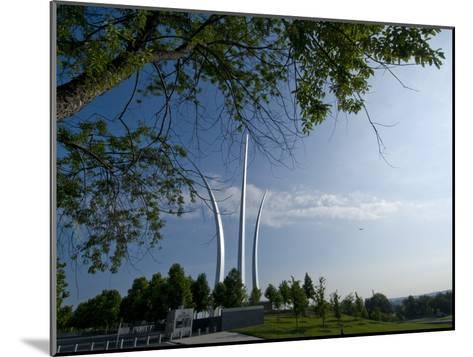 The Air Force Memorial in Arlington, Virginia-Brian Gordon Green-Mounted Photographic Print