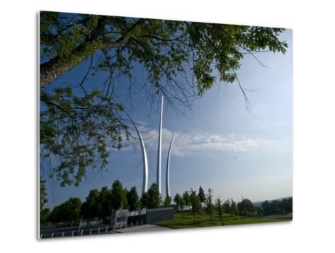 The Air Force Memorial in Arlington, Virginia-Brian Gordon Green-Metal Print