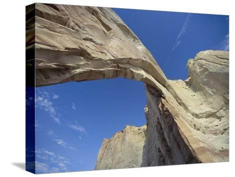 White Mesa Arch, Arizona-David Edwards-Stretched Canvas Print