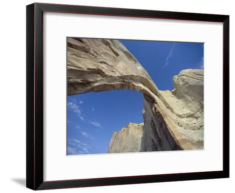 White Mesa Arch, Arizona-David Edwards-Framed Art Print