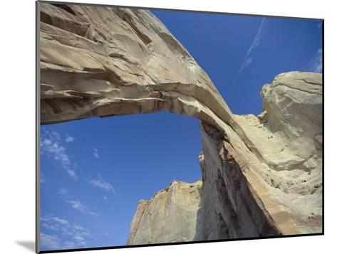 White Mesa Arch, Arizona-David Edwards-Mounted Photographic Print
