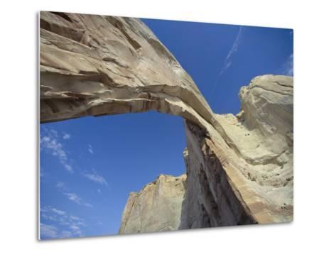 White Mesa Arch, Arizona-David Edwards-Metal Print