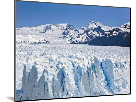 Massive Ice Towers on the Leading Edge of Perito Moreno Glacier-Mike Theiss-Mounted Photographic Print