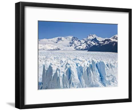 Massive Ice Towers on the Leading Edge of Perito Moreno Glacier-Mike Theiss-Framed Art Print
