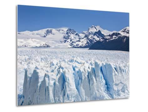 Massive Ice Towers on the Leading Edge of Perito Moreno Glacier-Mike Theiss-Metal Print