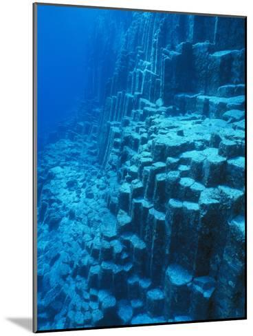 An Underwater Geological Formation, Galapagos Islands-Mauricio Handler-Mounted Photographic Print