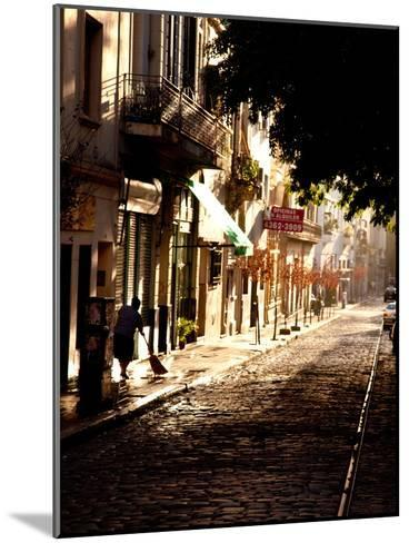 The Old Buenos Aires Neighborhood of San Telmo-Michael S^ Lewis-Mounted Photographic Print