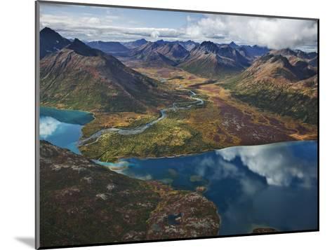 Chikuminuk Lake Reflects the Wilderness of Wood-Tikchik State Park-Michael Melford-Mounted Photographic Print