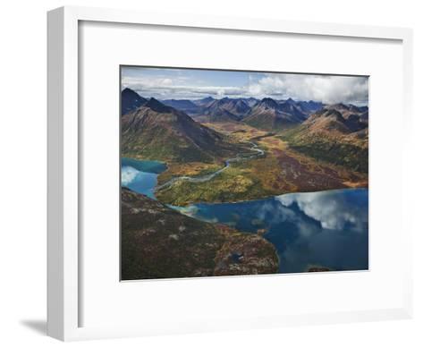 Chikuminuk Lake Reflects the Wilderness of Wood-Tikchik State Park-Michael Melford-Framed Art Print