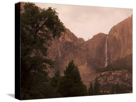 Yosemite Falls at Dusk-Mikey Schaefer-Stretched Canvas Print
