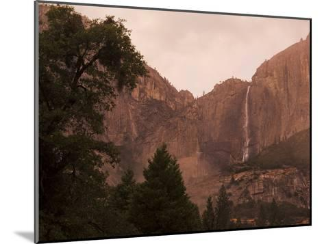 Yosemite Falls at Dusk-Mikey Schaefer-Mounted Photographic Print