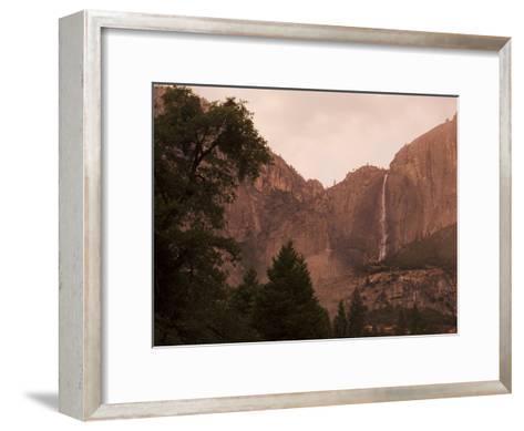 Yosemite Falls at Dusk-Mikey Schaefer-Framed Art Print