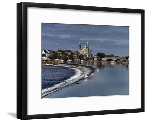 Athlone in County Westmeath, Ireland-Chris Hill-Framed Art Print