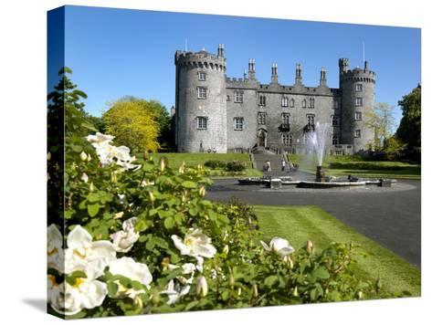 Kilkenny Castle in Ireland-Chris Hill-Stretched Canvas Print