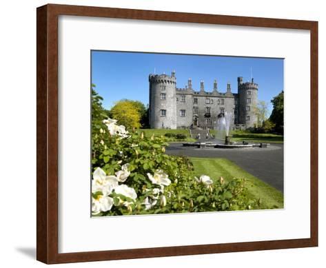 Kilkenny Castle in Ireland-Chris Hill-Framed Art Print