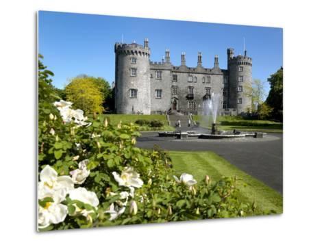Kilkenny Castle in Ireland-Chris Hill-Metal Print