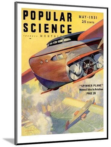Front Cover of Popular Science Magazine: May 1, 1931--Mounted Art Print