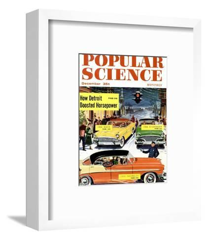 Front Cover of Popular Science Magazine: December 1, 1950--Framed Art Print