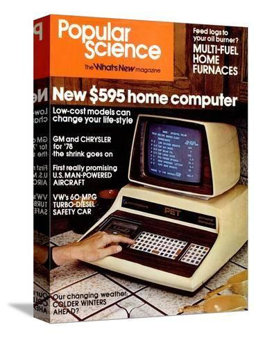 Front Cover of Popular Science Magazine: January 1, 1970--Stretched Canvas Print