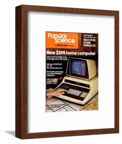 Front Cover of Popular Science Magazine: January 1, 1970--Framed Art Print