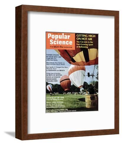 Front Cover of Popular Science Magazine: January 1, 1972--Framed Art Print