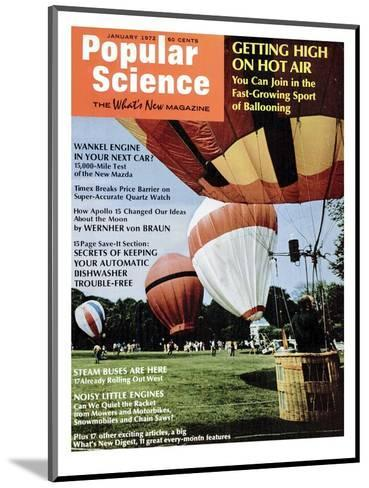 Front Cover of Popular Science Magazine: January 1, 1972--Mounted Art Print