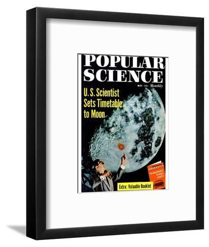 Front cover of Popular Science Magazine: May 1, 1950--Framed Art Print
