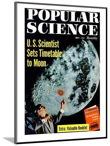 Front cover of Popular Science Magazine: May 1, 1950--Mounted Art Print