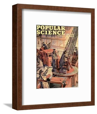 Front cover of Popular Science Magazine: January 1, 1947--Framed Art Print