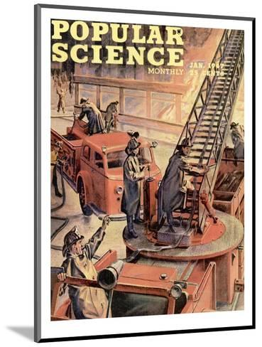 Front cover of Popular Science Magazine: January 1, 1947--Mounted Art Print