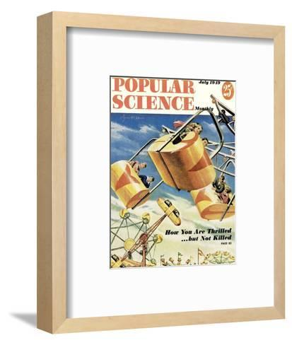 Front cover of Popular Science Magazine: July 1, 1949--Framed Art Print