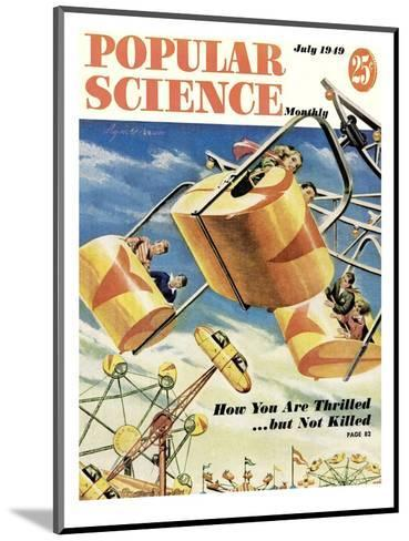 Front cover of Popular Science Magazine: July 1, 1949--Mounted Art Print