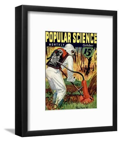 Front cover of Popular Science Magazine: October 1, 1930--Framed Art Print