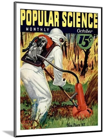 Front cover of Popular Science Magazine: October 1, 1930--Mounted Art Print