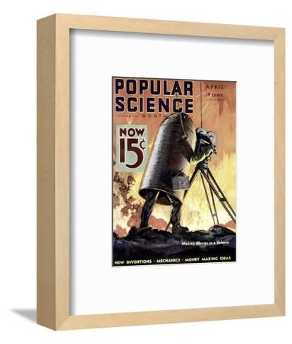 Front cover of Popular Science Magazine: April 1, 1900--Framed Art Print