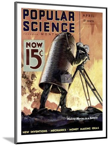Front cover of Popular Science Magazine: April 1, 1900--Mounted Art Print