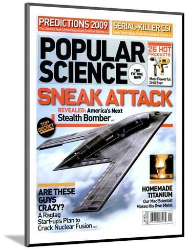 Front cover of Popular Science Magazine: January 1, 2009--Mounted Art Print
